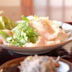 【高松市国分寺町の定食屋・きんしゃり食堂でランチ】玄米はモチモチで野菜中心の小鉢は優しい味で女性に人気のお店!