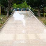 【ワイド滑り台がやばい!徳島県の於安(おやす)パーク】大人も子供も楽しめる美馬郡の自然公園!